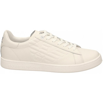 Chaussures Homme Baskets basses Emporio Armani EA7 SNEAKER ACTION LEATHER white
