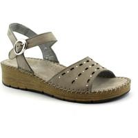 Chaussures Femme Sandales et Nu-pieds Grunland GRU-CCC-SA1842-CE Grigio