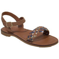 Chaussures Fille Sandales et Nu-pieds Shoo Pom lazar kate Marron