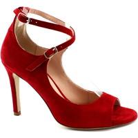 Chaussures Femme Escarpins Malù Malù MAL-E19-1484-RU Rosso