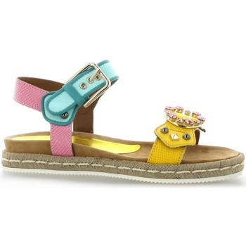 Chaussures Femme Sandales et Nu-pieds Alpe Nu pieds cuir Jaune