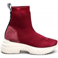 Chaussures Femme Baskets montantes Wonders C-5507_552 Bordeaux