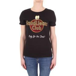 Vêtements Femme T-shirts manches courtes Gaudi 911BD64039 Noir