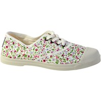 Chaussures Femme Tennis Natural World Tennis Lacet INGLES LIBERTY TINTADO 119 BLANCO