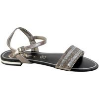 Chaussures Femme Sandales et Nu-pieds The Divine Factory Sandale Femme HX3677 Noir