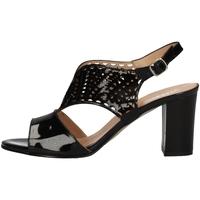 Chaussures Femme Sandales et Nu-pieds Soffice Sogno E9431C NOIR