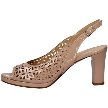 Chaussures Femme Sandales et Nu-pieds Soffice Sogno E9390 POUDRE