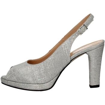 Chaussures Femme Sandales et Nu-pieds Soffice Sogno E9474 ARGENT