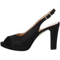 Chaussures Femme Sandales et Nu-pieds Soffice Sogno E9471 NOIR