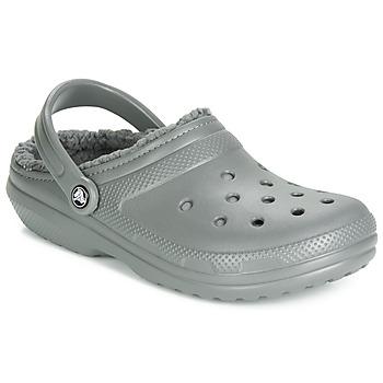 Chaussures Sabots Crocs CLASSIC LINED CLOG Gris