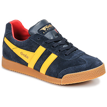 Chaussures Enfant Baskets basses Gola HARRIER Marine / Jaune