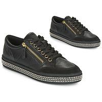 Chaussures Femme Baskets basses Geox D LEELU' Noir
