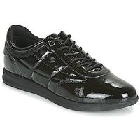 Chaussures Femme Baskets basses Geox D AVERY Noir