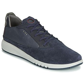 Chaussures Homme Baskets basses Geox U AERANTIS Marine