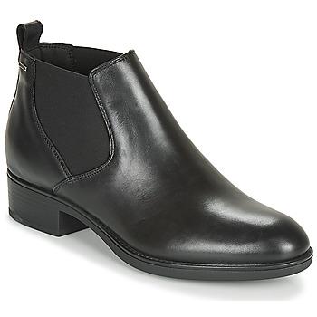 Chaussures Femme Boots Geox D FELICITY NP ABX C Noir