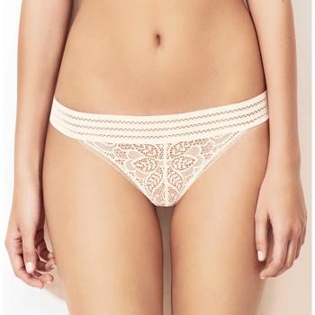 Sous-vêtements Femme Strings Huit string arpege ivoire Blanc