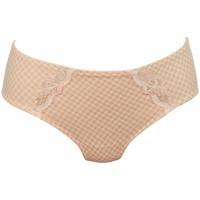 Sous-vêtements Femme Culottes & slips Rosa Faia culotte joséphine pearl rose Beige