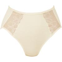 Sous-vêtements Femme Culottes & slips Rosa Faia culotte haute lupina Ecru