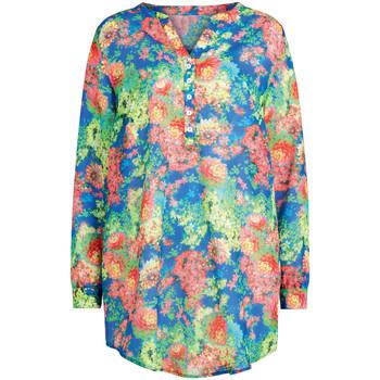 Vêtements Femme Tops / Blouses Anita blouse de plage rosa faia lakena Tropique