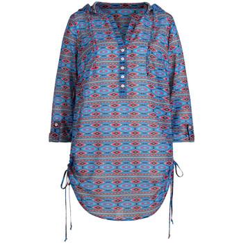 Vêtements Femme Tops / Blouses Anita blouse de plage rosa faia mangaia mystic blue