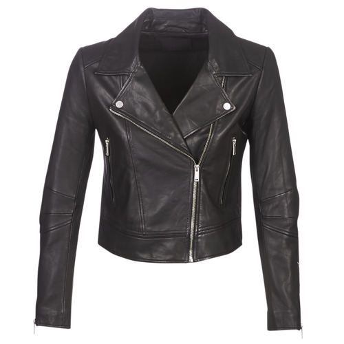 Vêtements Femme Vestes en cuir / synthétiques Ikks BM48145-02 Noir