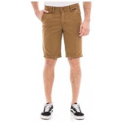 Vêtements Homme Shorts / Bermudas Ritchie Bermuda coupe droite BROWEN Marron