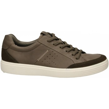 Chaussures Homme Baskets basses Ecco Soft 7 M TarmacDarkclay SuedeDroid tarmac-marrone