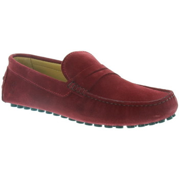 Chaussures Homme Mocassins Les Mocassins Tropéziens Mocassins les tropéziens ref_lmc43296 Bordeaux rouge