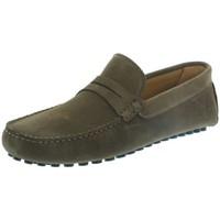 Chaussures Homme Mocassins Les Mocassins Tropéziens Mocassins les tropéziens ref_lmc43296 Tabac marron