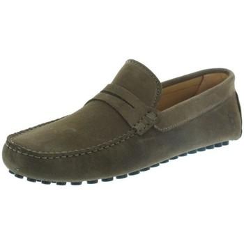 Chaussures Les Mocassins Tropéziens Mocassins les tropéziens ref_lmc43296 Tabac