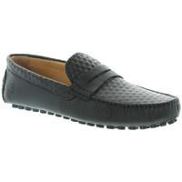 Chaussures Homme Mocassins Les Mocassins Tropéziens Mocassins les tropéziens ref_lmc46138 Noir noir