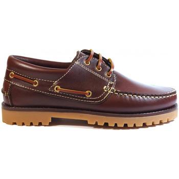 Chaussures Homme Chaussures bateau La Valenciana ZAPATOS  848 BURDEOS rouge
