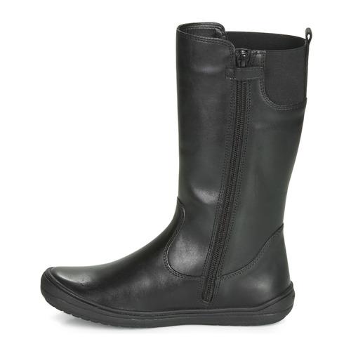 Geox Ville Noir Fille Girl Bottes J Chaussures Hadriel OZukPXiT