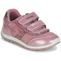 Chaussures Fille Baskets basses Geox B SHAAX Rose