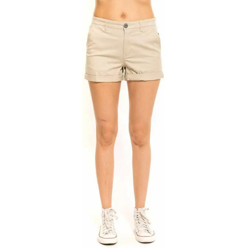 Waxx Short Chino BOMBA Beige - Vêtements