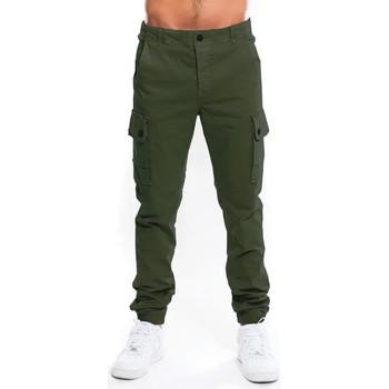 Vêtements Homme Pantalons cargo Waxx Pantalon Cargo Homme Vert Kaki