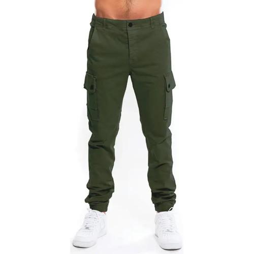 Waxx Pantalon Cargo Homme Vert Kaki - Vêtements