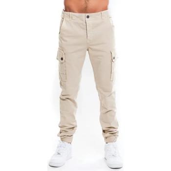 Vêtements Homme Pantalons cargo Waxx Pantalon Cargo Homme Beige