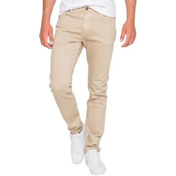 Vêtements Homme Jeans droit Waxx Pantalon joggjean BRONX Beige