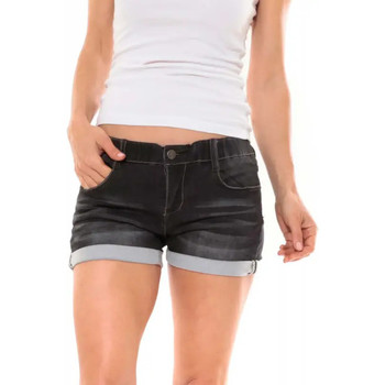 Vêtements Femme Shorts / Bermudas Waxx Short joggjean INDIAN Noir