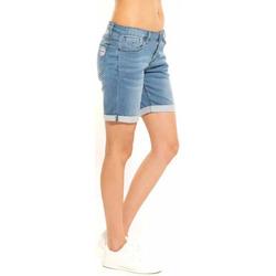 Vêtements Femme Shorts / Bermudas Waxx Short long joggjean BERMUDES Bleu