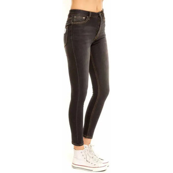 Vêtements Femme Jeans slim Waxx Pantalon joggjean TWIST Noir