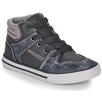 Chaussures Garçon Baskets montantes Chicco CAMILLO Bleu / Gris