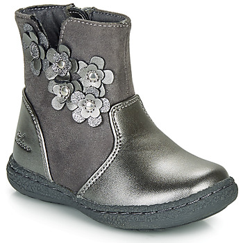 Chaussures Fille Bottes ville Chicco CINEY Gris