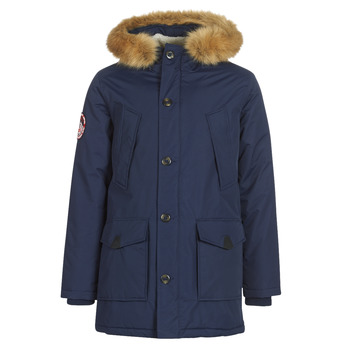 Vêtements Homme Parkas Superdry EVEREST PARKA Marine