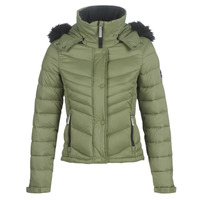 Vêtements Femme Doudounes Superdry FUJI SLIM 3 IN 1 JACKET Kaki