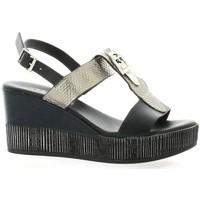 Chaussures Femme Sandales et Nu-pieds Repo Nu pieds cuir Noir