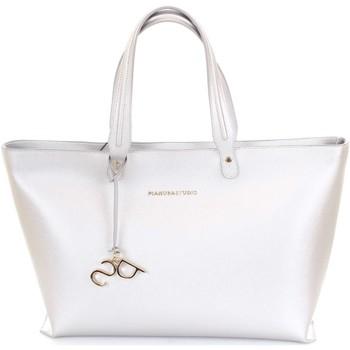 Sacs Femme Cabas / Sacs shopping Pianura Studio P16GLWA10000 argent