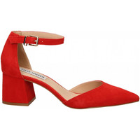 Chaussures Femme Escarpins Steve Madden MORTINA SUEDE red