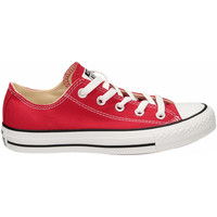 Chaussures Baskets basses Converse ALL STAR OX CANVAS red-rosso